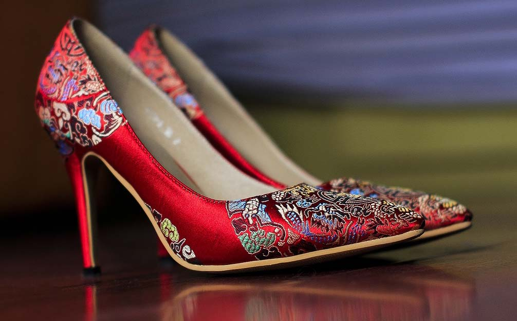 Beautiful Asian-style shoes